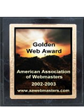 Awarded to Effigy Designs by The American Association of Webmasters.